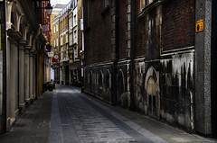 Ancestors' Breath (Dimmilan) Tags: uk england london city urban architecture building street old passage pavement