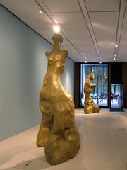Human Activity, by Daniel Silver, in the Bloomberg SPACE at the London Mithraeum, 6th August 2019 (7) (Phil Masters) Tags: humanactivity danielsilver sculpture londonmithraeum bloombergspace 6thaugust august2019 london
