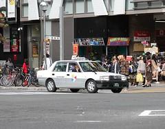 Nagoya  Taxi   Fuji Taxi Group (Flame1958) Tags: fujitaxigroup fujitaxi 4212 nagoya japan nagoyataxi 231016 1016 2016 traveljapan travelnagoya