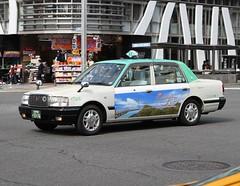 Nagoya  Taxis (Flame1958) Tags: 4210 nagoya japan nagoyataxi 231016 1016 2016 traveljapan travelnagoya