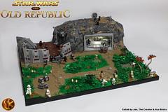 Sith Empire outpost on Balmorra (Jan, The Creator) Tags: lego star wars theoldrepublic swtor jan the creator ace bricks collab balmorra