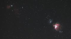 The Orion Nebula in Full Spectrum (Radical Retinoscopy) Tags: orion orionnebula m42 nebula nebulosity flamenebula horseheadnebula halpha modified canon70d canon200mmf28 fullspectrum astrometrydotnet:id=nova3766457 astrometrydotnet:status=solved