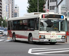 Nagoya Bus (Flame1958) Tags: 4214 nagoyabus nagoya japanbus publictransportjapan japan 231016 1016 2016 nagoyastreet