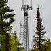 Communications Tower on the Gunflint Trail, Northern Minnesota