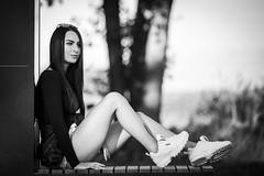 Martyna (Tymcio Piotr) Tags: girl dziewczyna woman bnw blackandwhite