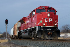 CP 7003- Looking good... For now (Khang Lu) Tags: cp canadian pacific emd sd70acu rebuild 298 humboldt yard minneapolis mn minnesota paynesville subdivision train locomotive railroad 7003