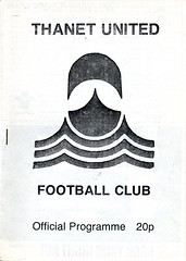 Thanet United v Waterlooville (Havant & Waterlooville) Tags: havant waterlooville thanet united margate southern league football programme
