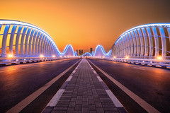 Dubai Architecture (Achim Thomae Photography) Tags: dubai meydanbridge uae vae architecture architektur brücke