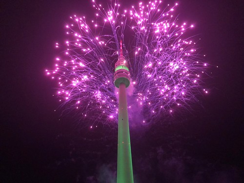 Feuerwerk am Florianturm (2)