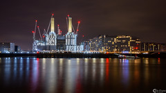 Battersea Power Station (Colin_Evans) Tags: london night battersea powerstation architecture