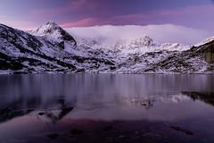 Morning over freezing lake (J.u.l.i.u.s.) Tags: new nature ngc natur inexplore explore lake landscape landscapes reflections reflection rocks rila bulgaria mountain water wasser