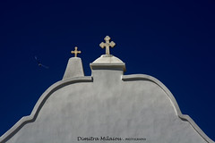 "Your first thought in the morning should be ""thank you"" (dimitra_milaiou) Tags: blue white greece light day saint cross double 2 two looking up europe shadows photography minimal minimalistic minimalism milaiou dimitra nikon d 7100 d7100 texture architecture lines line arc god sky ελλάδα ελλαδα δημητρα μηλαιου εκκλησία σταυρόσ δύο λευκό μπλε γαλάζιο ουρανόσ bright sunny"