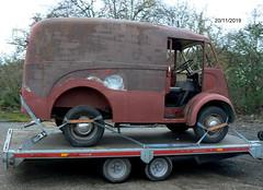 1960 Morris JB  704HCV (owbman) Tags: morris jb van