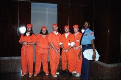 M_Oracle7 (180g895.ercf) Tags: oracle halloween sneakers plimsolls shackles shackled prison jail prisoners inmates ercf eaglerockcorrectionalfacility oraclehalloweencostumecontest sonymavicafd91 eaglerock correctionalfacility inmate prisoner convicts convict connectingchain bellychain waistchain handcuffs guard slipon sliponsneakers sliponplimsolls boots outdoors indoors chaingang restraints