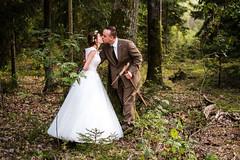Magda i Michał (Tymcio Piotr) Tags: wedding wesele plener bride groom forrest