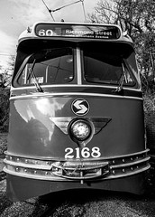 Streetcar (JCTopping) Tags: streetcar rail septa blackandwhite philadelphia trolley baltimore maryland unitedstatesofamerica