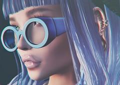 Feeling Blue (S!nny) Tags: stunneroriginals secondlife sl slblogs sllife secondlifeblogs avatar avatarsofsecondlife alternative avatars art fashion firestorm fall meshavatar mesh myavatar mysecondlife meshhead makeup mystyle portrait