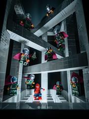 Illusion of Mysterio. (Lego_nuts) Tags: superhero marvelstudio sony spidermanfarfromhome mysterio spiderman moc marvel lego legophotography