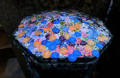 Bin stickers (Allan Rostron) Tags: edinburgh artgalleries stickers bins