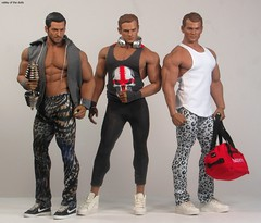 FITNESS FASHION (valleyofthedolls) Tags: tbleague phicen actionfigure ken barbie fashiondoll