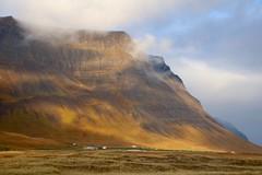 Westfjord Scenery (adamsgc1) Tags: dynjandi waterfall fjallfoss westfjord iceland vestfjarðavegur cottage mountain scenery clouds