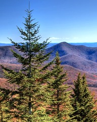 Landscape from Blue Ridge Parkway, North Carolina. (esywlkr) Tags: landscape scenery trees sky mountains nc northcarolina pisgahnationalforest