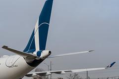 P4-MLO Airbus A33-243 451 CYYZ (CanAmJetz) Tags: p4mlo airbus a330243 comulux aruba bizjet aircraft airplane portrait cyyz yyz winglet