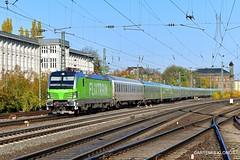 BTE - RPOOL 193 991-7 (Artemis & Nikos Klonos) Tags: germany deutschland passengertrain bte rpool vectron normalgauge br193 minden 2019 flixtrain electric ak