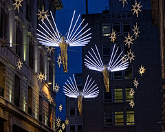 Angels (Croydon Clicker) Tags: street lights christmas festival illuminations decorations night london nikon sigma