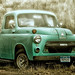 1954 DODGE PICKUP ON A FOGGY DAY