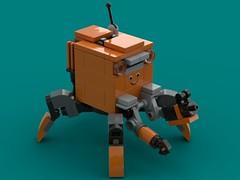 Box-Bot (The Hydromancer) Tags: frame mfo mfz namofrafarmo mobile zero scifi micro lego mecha
