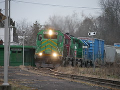 Fredericton Junction,NB (MaineTrainChaser) Tags: trains train emr nbsr west westbound mcadam sub mattawamkeag maine new brunswick