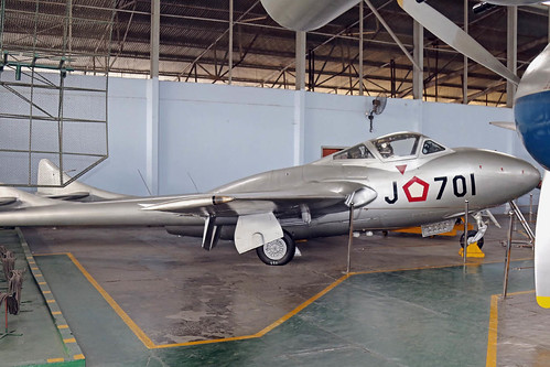 J-701 De Havilland DH.115 Vampire T.11 Indonésia Air Force cn 15780