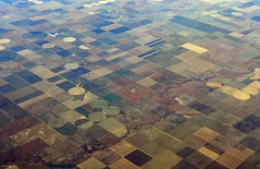 Kansas and Colorado (zeesstof) Tags: aerial aerialview businesstrip commercial commercialflight flight geo:lat=3734678319 geo:lon=10174145305 geotagged houstontodenver iahtoden triptodenver unitedairlines viewfromwindow zeesstof