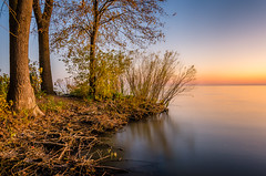 Autumn Light (Neil Cornwall) Tags: 2019 canada kingsville lakesidepark october ontario fall sunset