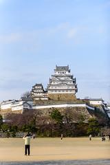 Himeji Castle (in explore 25/11/2019) (Flutechill) Tags: history historical himeji himejicastle castle architecture architectureandbuildings city citylife people peopletraveling japan japaneseculture hyogo kansai