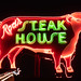 Rod's Steak House - Famous Cow Neon