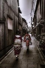 The way of Geisha (sKamerameha) Tags: geiko geisha woman street old kimono people human happyplanet asiafavorites