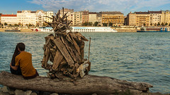 Wooden wingman (Behind Budapest) Tags: 2019 365project 70d budapest canon danube donau duna hungary magyarorszag taban artproject boat building buildingexterior city date epulet outdoor outdoors outside people river riverfont sculpture ship sky town urban vessel water waterfront