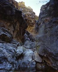 "Ice box canyon fall (jc_hamann) Tags: intrepid 4x5"" portra400 nevada redrockcanyon landscape lasvegas"