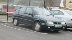 1995 Citroen ZX Memphis TD (occama) Tags: n542haf citroen zx memphis td diesel bangernomics old car cornwall uk french green cornish reg 1995