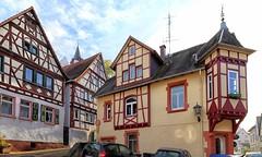 Zwingenberg Fachwerkhäuser (wernerfunk) Tags: architektur erker bowwindow hessen village dorf