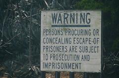 Warning (michael_hamburg69) Tags: alcatraz san francisco usa america amerika westküste west coast city island insel jail prison gefängnis museum behindbars warning sign keepoff gefängnisinsel california kalifornien