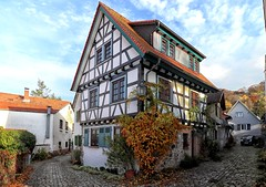 Zwingenberg Fachwerkhaus (wernerfunk) Tags: fachwerk architektur hessen dorf village