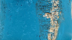 Blue abstract (patrick_milan) Tags: blue bleu blau paint peinture decay old ship boat