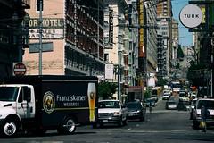 Streets of San Francisco (michael_hamburg69) Tags: sanfrancisco usa america amerika westküste west coast city california kalifornien franziskanerweisbier beer bier lkw truck street