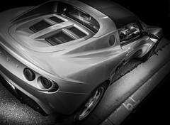 ELISE (Dave GRR) Tags: lotus elise sportscar supercar hypercar autoshow cars vehicle auto monochrome mono blackandwhite toronto olympus