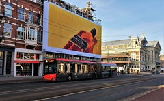 Red & Black (Peter ( phonepics only) Eijkman) Tags: amsterdam city cxx connexxion bussen busses bus transport nederland netherlands nederlandse noordholland holland