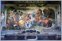 Scène X La mort d'Hector, Galerie du Grand Ecuyer, Château d'Oiron, Oiron, Deux-Sèvres, France (claude lina) Tags: claudelina france deuxsèvres château castle châteaudoiron oiron
