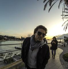 Ehi tu! (vannuc) Tags: sea winter sunset love marco friends weekend italy gopro lerici